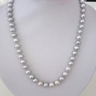 Pearl Necklace  - Classic Grey