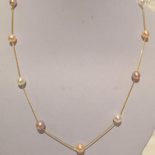 Pearl Chain in  18ct Gold